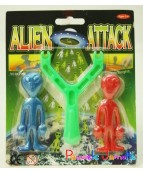 ALIEN COLLANT AVEC CATAPULTE SUR CARTE  SE VEND PAR 6 PIECES