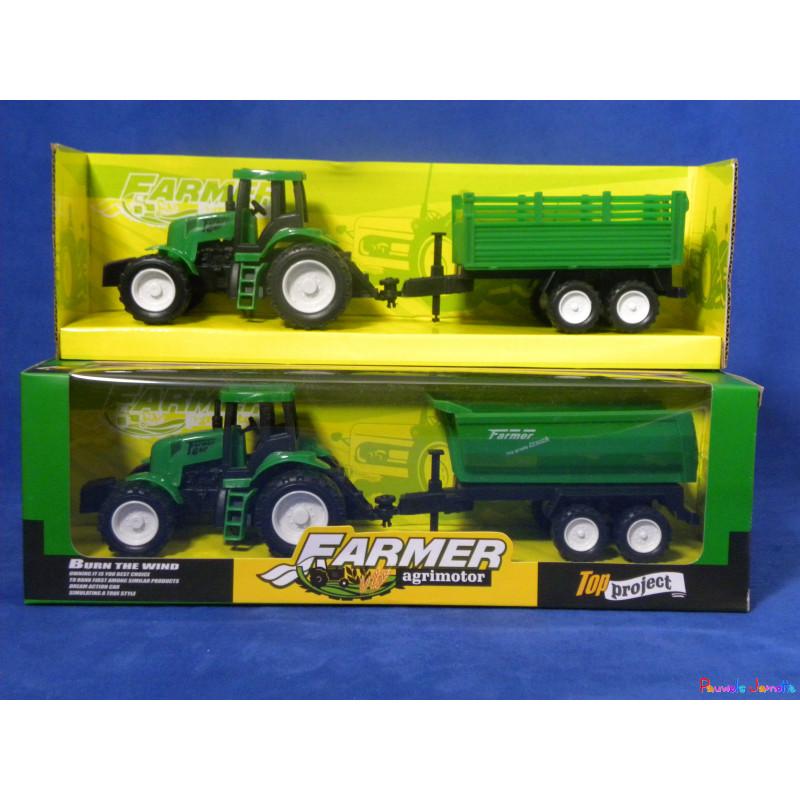 tracteur avec remorque 2 modeles